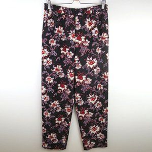 Club Monaco Pull On Floral Pant Size 10